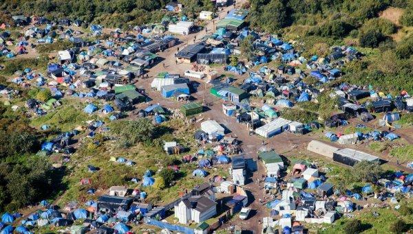 La jungle de Calais...