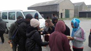 Une maraude à Calais... et l'hiver approche