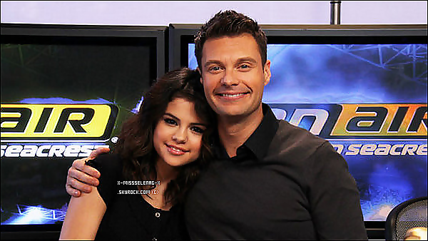 + March 8th  ;  Selena à Ryan Secreast pour la première mondiale de Who Says. +