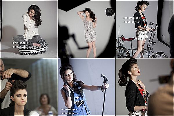+  Les photos du backstage du photoshoot de Selena fait à Budapest.  (+) Vidéo promotionnelle de Selena pour le projet Tap Water. +
