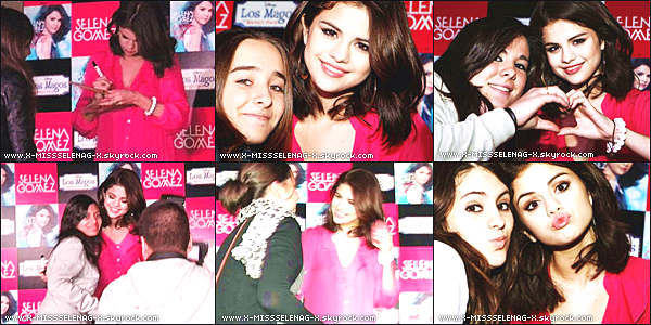 + October 17th  ;   Selena, faisant la promotion de « A Year Without Rain » à Madrid, Espagne.  +