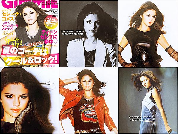 +  Nouveau photoshoot de Selena pour la magazine Japonais «Gimmie».+ Une nouvelle photo que Selena a posté sur Twitter. +
