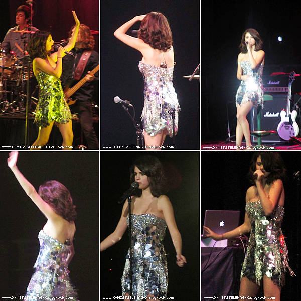 + October 24th  ;   Selena Gomez & The Scene, donnant un concert à Arizona State Fair.  +