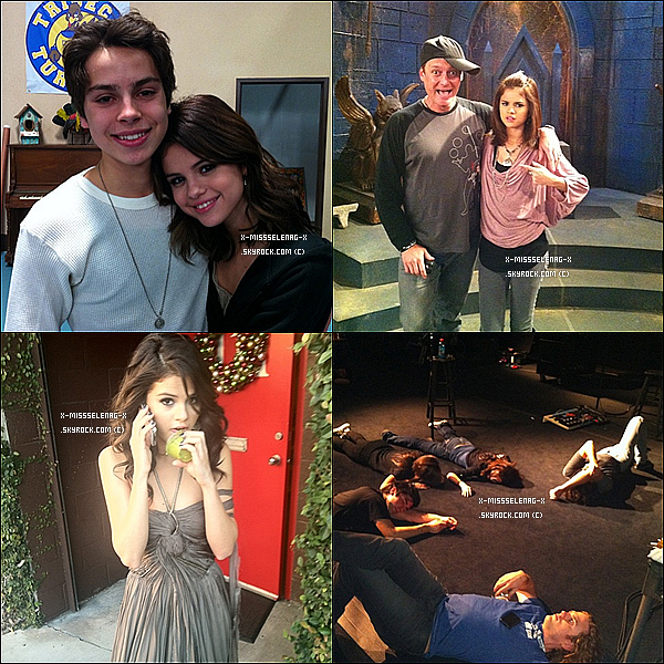+ October 28th  ;  Selena dans les behind the scenes de «CNN Sharing The Spotlight».+ Nouvelles photos provenant de Twitter. +