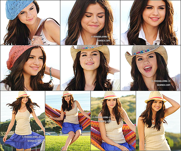 +  Behind The Scenes du promoshoot de Dream Out Loud de la collection Printemps 2011. (+) Nouvelles photos de Selena via Twitter. +