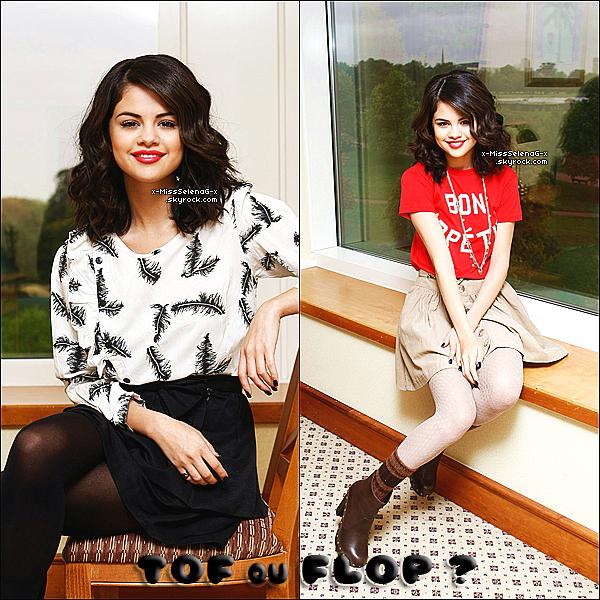 + Nouveau magnifique photoshoot de Selena fait à Londres.+