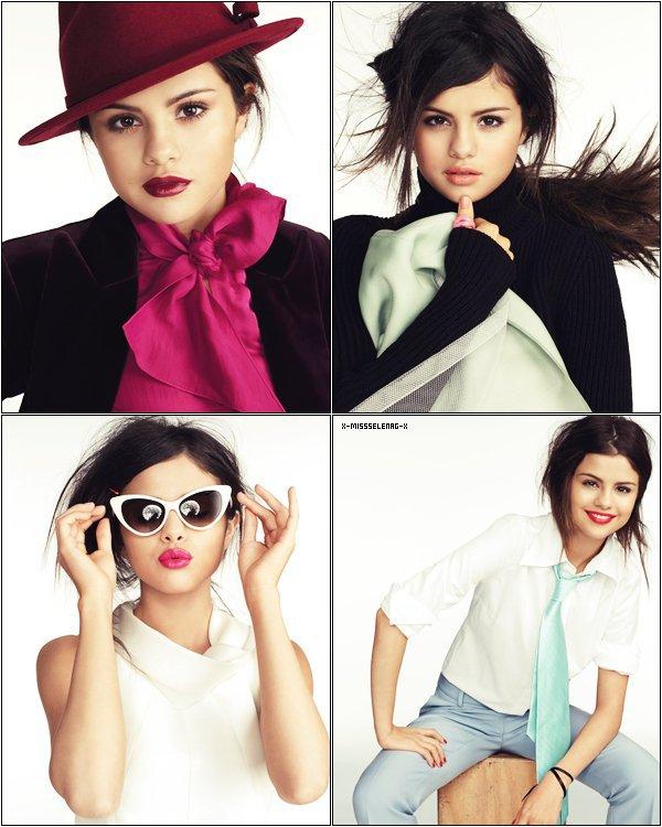 """+ August 5th  ;   Selena donnant un concert à Bethel, à NewYork. + Photoshoot pour le magazine """"Glamour"""". +"""