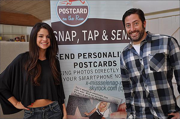 + November 16th  ;  Selena dans le studio «Postcard on the Run».+ Rattrapage des photos Instagram! +