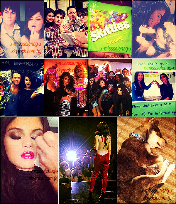+ November 16th  ;  Selena dans le studio «Postcard on the Run».+ Rattrapage des photos Instagram! +