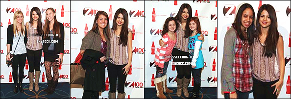 + December 10th  ;  Notre Sel. adorée arrivant à l'aéroport JFK. Elle s'est rendu au Z100 Jingle Ball ; au H & M Artist Gift Lounge ; au Coca Cola's All Access Lounge. Quelle journée chargée! +