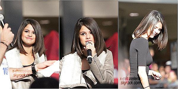 + October 16th  ;  Selena a fait un Meet&Great et le soir en concert à Edmonton (Canada).+