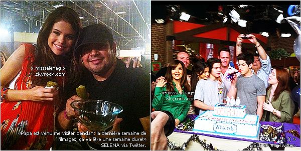 + May 11th  ;  Gomez était au «SOUTHERN STYLE ST BERNARD PROJECT EVENT»+ Deux nouvelles photos postées sur le Twitter de Selena. +