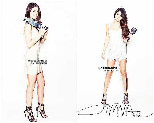 + June 19th  ;  Selena répétant une dernière fois juste avant les MMVA's.+ Deux nouvelles photos promotionnelles pour les MMVA. +