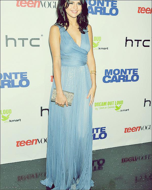 + June 23rd  ;  Selena, Katie Cassidy et Andie MacDowell à la première de Monte Carlo.+