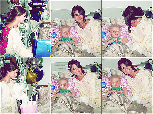 + June 26th  ;  Selena au Monte Carlo Mall Tour à Orland.+ Selly visiant des enfants malades à l'hôpital de Boston. Un coeur en or cette fille! +