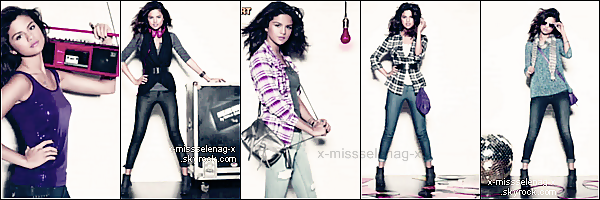 + Exclusif  ;  Collection d'Automne 2011 de DOL (désolé de la qualité, j'ai pas mieux)+ Selena rencontrant Shia LaBeouf. Son rêve s'est réalisé ! +