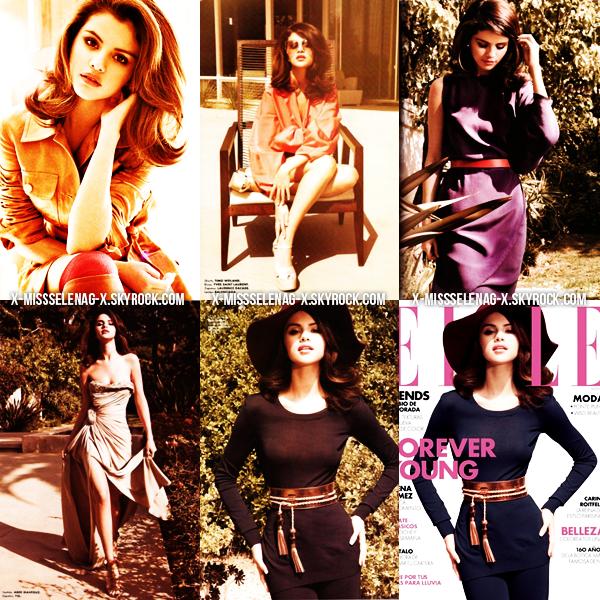 + July 24th  ;  Selena donnant un concert pour sa tournée We Own The Night.+ Un tout nouveau photoshoot de Selena pour Elle vient d'apparaître. +