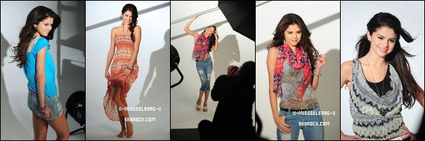 + Le behind the scenes du shoot de la collection printemps DOL.  (+) Nouvelles photos personnelles de Selena. +