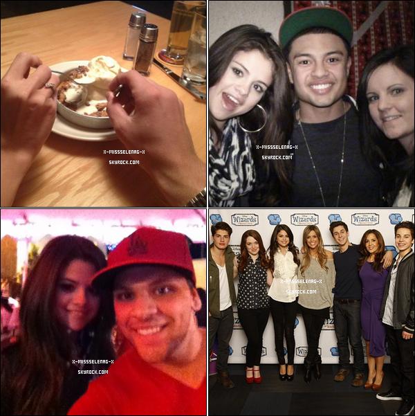 + December 17th  ;  Mandy la mère de Selena a fait une fausse couche, soutenons les !  + Des nouvelles photos personnelles de Selena via Instagram ou autre. +