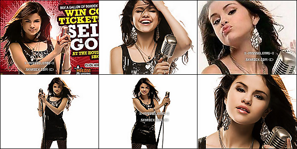 + January 22nd  ;  La tournée de Selena à repris à San Juan, au Porto Rico.(+) Photos promotionnelles de Borden Milk pour un show à Houston. +