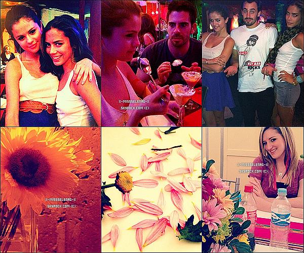 + February 2nd  ;  Selena et son groupe donnant un concert à Lima, au Pérou.(+) Pleins de nouvelles photos de Selena et autres via Instagram! +