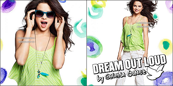 + February 7th  ;  Selena et son groupe donnant un concert à Cordoba, Argentine.(+) Découvre le promoshoot de la collection Printemps 2012 de Dream Out Loud. +