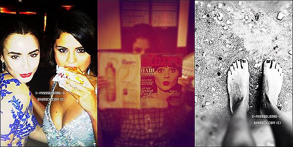 + February 11th  ; Selena donnant le dernier concert de sa tournée à Montevideo en Uruguay . (+) De nouvelles photos personnelles de Selena via Instagram sont sorties. +