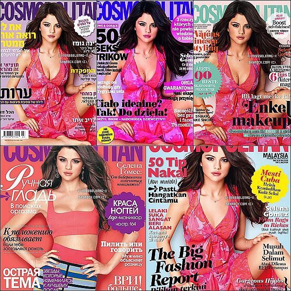 + March 22nd  ;  Selena et Nessa Hudgens sur le set de Spring Breakers à Floride. (+) Couvertures de Cosmopolitan de pleins de pays différents du mois d'Avril et/ou Mars. +