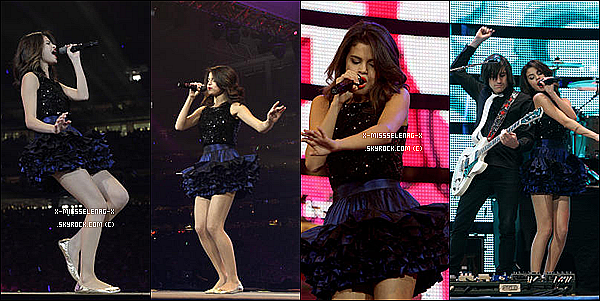 + March 6th  ;  Selena & The Scene donnat un concert à Houston, Texas.+ Preview du clip Who Says. +