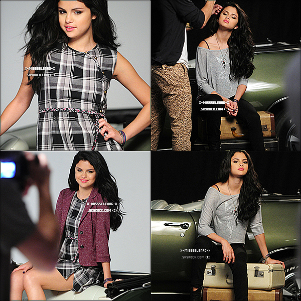 + Behind the Scenes du prochain promoshoot pour la prochaine collection de Dream Out Loud. + Photos personnelles de Selena via Twitter, Instagram et Facebook. +