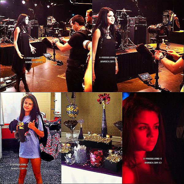 """+ April 26th  ;   Selena est allée au """"Elvis Duran Show"""". (+) Des photos personnelles via Instagram postées par plusieurs personnes. +"""