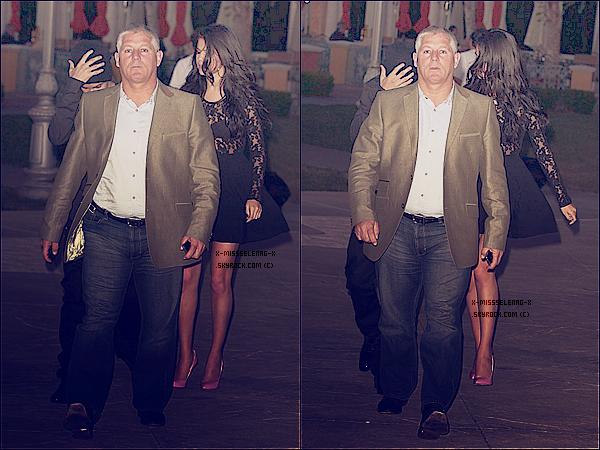 + May 28th  ;   Selena allant à la fête de Joel Silver (producteur de The Getaway) à Malibu et le soir allant dîner avec son compagnon à Calabasas (Los Angeles).  +