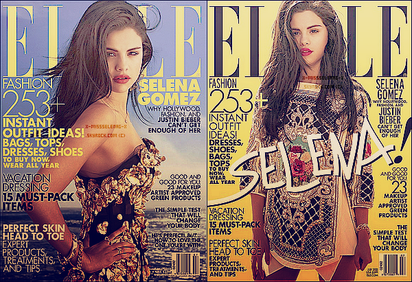 + June 12th  ;   Selena au «3ème Right to Laugh Annuel» avec sa famille. + Photoshoot et Scans pour le magazine «Elle». +