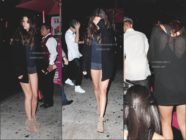 + August 9th  ;   Selena et Justin ont été vus quitter Laugh Factory à Los Angeles. + Publicité de Dream Out Loud est enfin sortie, check it out! +