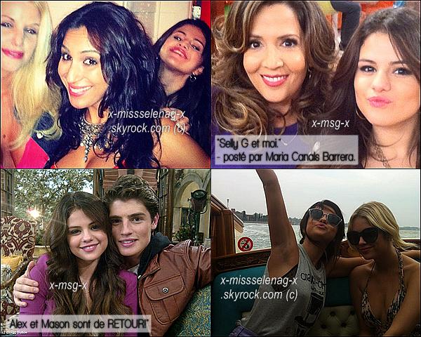 + Découvre un tout nouveau photoshoot de la belle Selena, qui reste inconnu. + Découvrez aussi de nouvelles photos personnelles postées par différentes personnes via Twitter. +