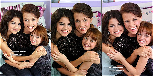 + July 26th  ;   Selena, muette, était à «Lopez Tonight». + Un nouveau photocall pour Romana & Beezus. +