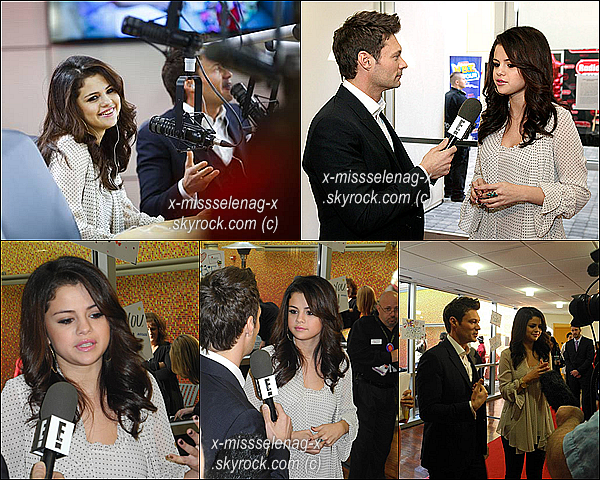+ November 14th  ;   Selena et Ryan Secrest à l'inauguration d'un hôpital pour enfants à Dallas. +