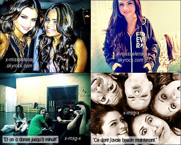 + December 4th  ;   Selena a été vue sortant du «Tarzana Medical Center» et plus tard dans la journée, elle a été aperçue allant au restaurant «Yamato Sushi» avec son amie Samantha. +