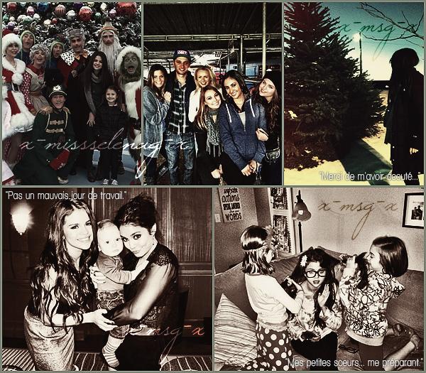 + January 3rd  ;   Selena a été vue embarquant à l'aéroport de LAX. + Nouvelles photos personnelles de S. postées par elle-même via Facebook et Twitter. +