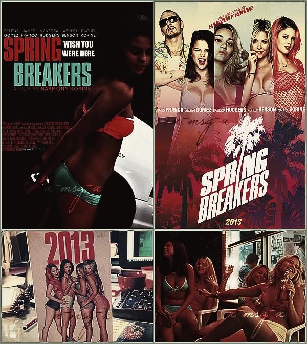 + January 11th  ;   Selena a été vue arrivant au restaurant 'BOA Steakhouse' en Californie. + Découvre pleins de nouvelles photos pour Spring Breakers (posters, promoshoot, stills) et les bandes-annonce. +