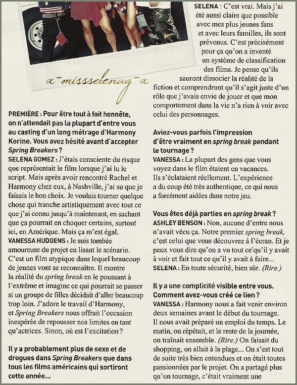 + January 21th  ;   Selena débarquant à l'aéroport de LAX, à Los Angeles. + Découvre les scans du magazine français «PREMIERE» avec l'interview du cast. +