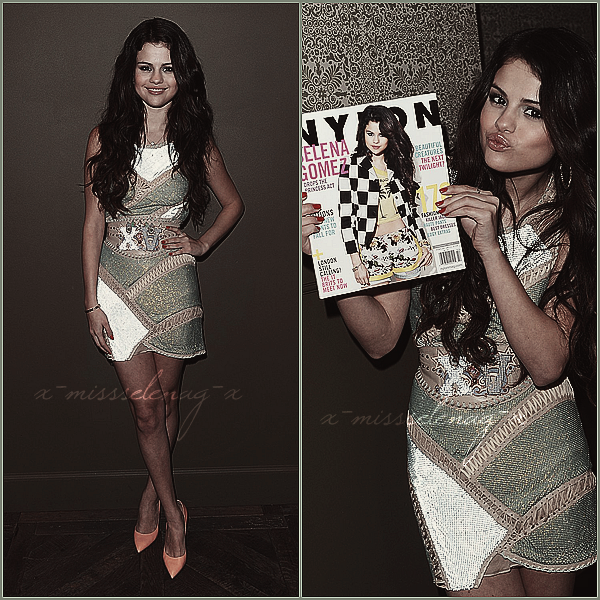 + January 29th  ;   Selena au «NYLON Magazine and COACH Celebrate the February Issue». +