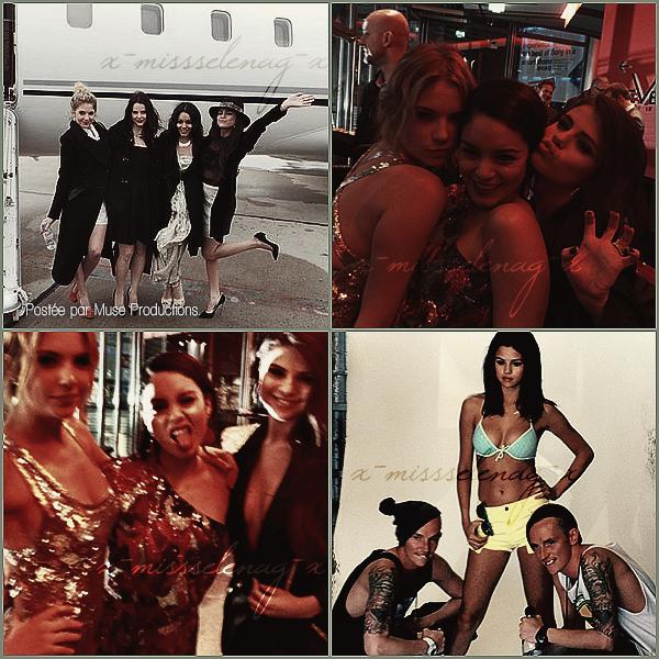 + February 11th  ;   Selena a été vue quittant la fête des 'Pré-Grammys' avec Alfredo et Sam'. + Découvre pleins de nouvelles photos personnelles avec Selena postées par différentes personnes via Twitter. +
