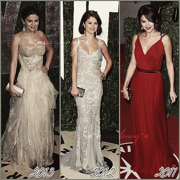 + February 24th  ;   Selena et Vanessa au «Vanity Fair Oscar Party» et quittant le lieu avec Lily. +