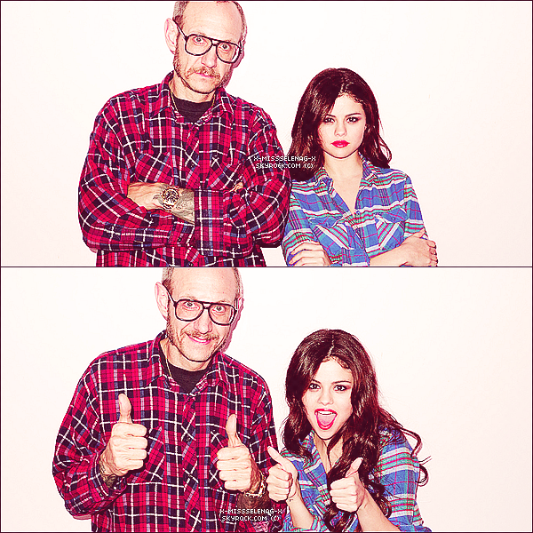 + February 28th  ;   La belle Selena et Charity Lynne allant dans un salon de beauté. + Nouvelles photos du shoot pour Harper's Bazaar dont quelques photos avec Terry Richardson. ARCHIVES. +