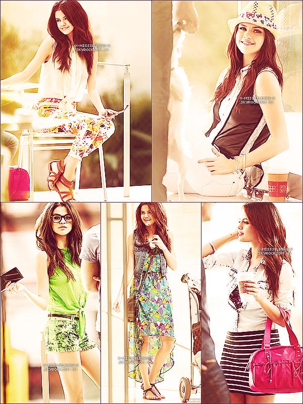 + March 5th  ;   Selena et Ashley Cook sortant de «Menchie's» à Los Angeles. + Découvre deux nouvelles affiches promo et le shoot promo pour la prochaine collection de DOL. +