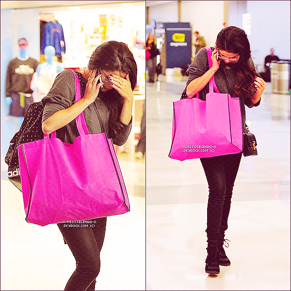 + March 17th  ;   Selly au match des Lakers vs Kings, puis embarquant à l'aéroport LAX. +