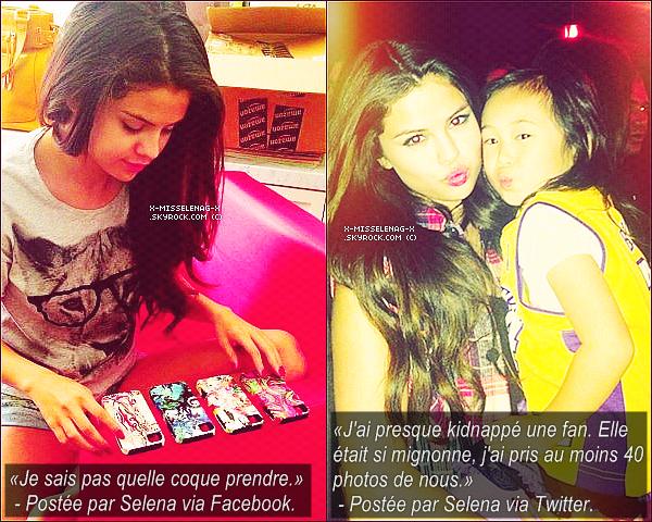 + March 26th  ;   Selena a été vue faisant du shopping à Venice (California). + Voici une petite avalanche de photos personnelles ainsi qu'encore des interviews pour SB. +