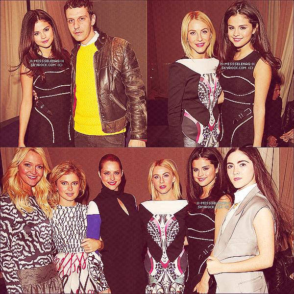 """+ April 9th  ;   S. dans Calabasas & soir au British Fashion Council's """"London Show Rooms LA"""". +"""
