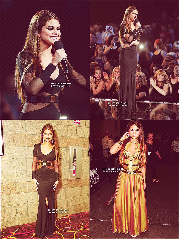 + May 19th  ;   Selena aux «Billboard Music Awards 2013». +